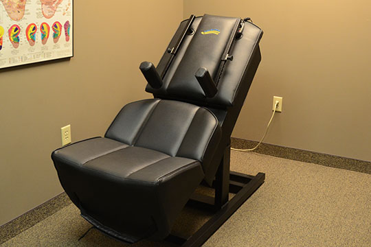 Chiropractic Morton IL Central Illinois Wellness Center Therapy Chair